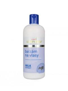 Balzám na vlasy s extrakty z kozího mléka VivaPharm 400 ml
