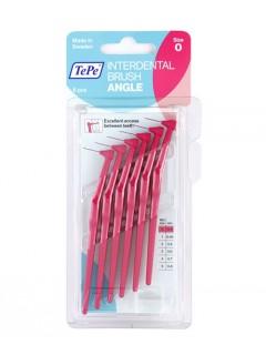 Mezizubní kartáčky TePe Angle 0,4 mm růžové, 6 ks