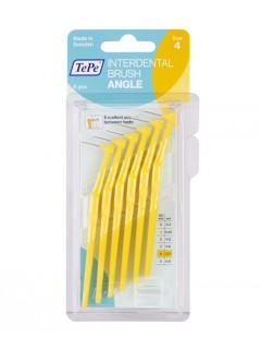 Mezizubní kartáčky TePe Angle 0,7 mm žluté, 6 ks