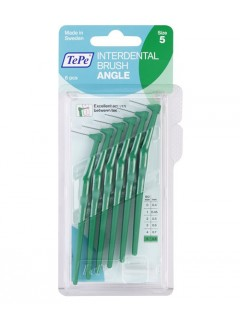 Mezizubní kartáčky TePe Angle 0,8 mm zelené, 6 ks
