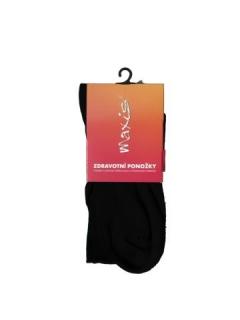 Ponožky Maxis žebrované, barva černá