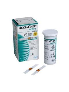 Testovací proužky Accu Chek Active 50ks