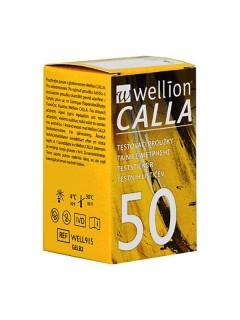 Testovací proužky Wellion CALLA 50 ks