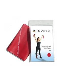 Thera-Band posilovací guma 2 m červená, středně silná