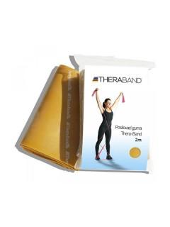 Thera-Band posilovací guma 2 m zlatá, maximálně silná
