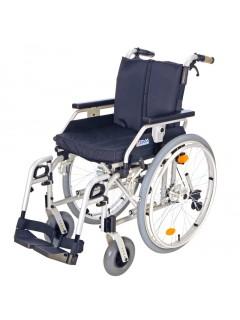 Invalidní vozík s brzdami pro doprovod 318-23