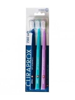 Zubní kartáčky Curaprox CS 1560 Soft, 3 ks