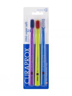 Zubní kartáčky Curaprox CS 3960 Super Soft, 3 ks