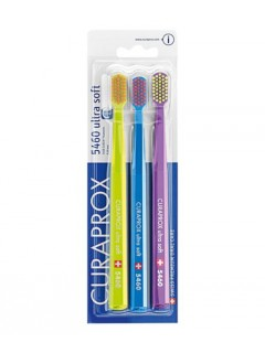 Zubní kartáčky Curaprox CS 5460 Ultra Soft, 3 ks