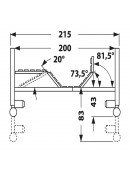 Elektrické polohovací lůžko PB 331-5