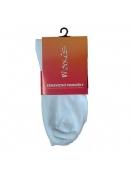 Ponožky Maxis hladké barva bílá