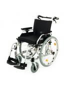 Invalidní vozík s brzdami pro doprovod 108-23