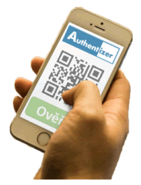 Authentizer - ověření QR kódu mobilním telefonem